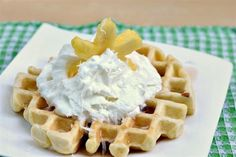 Coconut Waffle - Super easy to make and COCONUT!