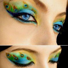 Amazing make-up.