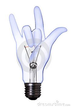 Photo about Love sign hand lamp bulb with clipping path. Image of hand, illumination, glowing - 8799582 Sign Language Art, American Sign Language, Deaf Jokes, Deaf Sign, Deaf Art, Alphabet Signs, Light Bulb Crafts, I Love You Signs, Simple Signs