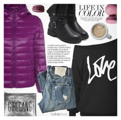 """""""Street Style"""" by pokadoll ❤ liked on Polyvore featuring Sarah Baily, KING, polyvoreeditorial and polyvoreset"""