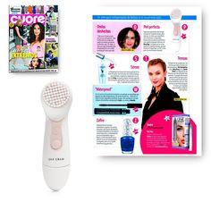 Revista Cuore abril 2016. Cepillo Limpiador Facial Skinvigorate.  #MaryKay #MaryKayEspaña #Medios #Revista #Revistas #Cuore #Belleza #CepilloLimpiadorFacial