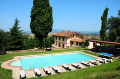 Tuscany Villa for fantastic holidays in Italy ..