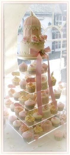 Mrs Cake. Birdcage cake