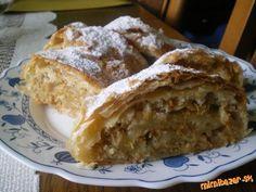 Vysoká juhoslovanská štrúdla. Kitchen Ideas, Pie, Bread, Food, Sweets, Torte, Cake, Fruit Cakes, Brot
