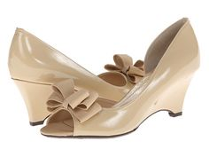 J. Renee Chrissy Nude Patent Leather - 6pm.com