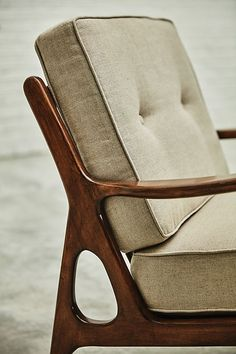 Linen Haverhill Chair | Anthropologie