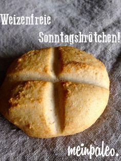 Weizenfreie Paleo Sonntagsbrötchen - meinpaleo