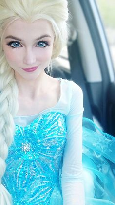 cosplay Elsa frozen