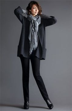 Eileen Fisher Jacket, Tee, Pants & Scarf
