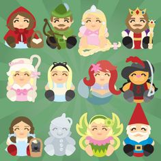 Cuddly Storybook Friends SVG Collection - $6.99 : SVG Files for Sure Cuts A Lot - SVGCuts.com