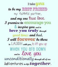 "Love Quotes | Wedding Vows. Read about ""The Power of Wedding Vows"" on the Traditions Wedding Blog at http://wp.me/p2IVdh-7J."