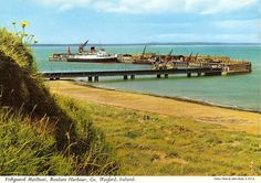 The first time I left Ireland it was from here, Rosslare Harbour, to go to France.