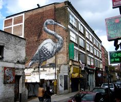 Resultado de imagen de roa graffiti artist london