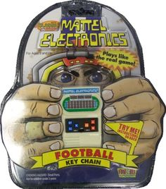 Mattel Electronics Football Key Chain * Read more reviews of the product by visiting the link on the image.Note:It is affiliate link to Amazon.