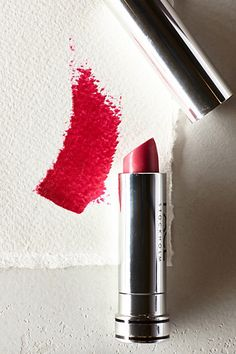 Pretty shade of pink/red lipstick #anthrofave http://rstyle.me/n/s4ivrnyg6