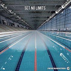 Swimming - set no limits - #winfromwithin