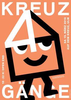 KREUZGÄNGE 4  — Poster — BARBAR — Studio for Graphic Design & Illustration