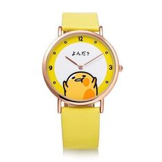 Gudetama Japanese Lazy egg Yolk Watch SD01185 Adele, Lazy Egg, Cute Egg, Cute Presents, Bratz Doll, Kawaii Shop, Pusheen, Kawaii Fashion, Sanrio