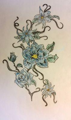 fiori tribali