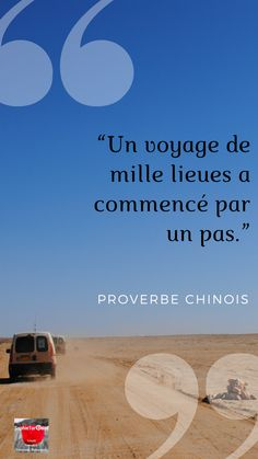 proverbe chinois . un voyage de mille lieux