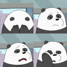 we bare bears Cute Panda Wallpaper, Bear Wallpaper, Cute Disney Wallpaper, Wallpaper Iphone Cute, We Bare Bears Wallpapers, Panda Wallpapers, Cute Cartoon Wallpapers, Cartoon Cartoon, Vintage Cartoon