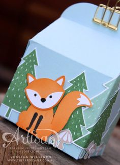 Foxy Friends gift box for the Stamp Review Crew  Stampin' Up!