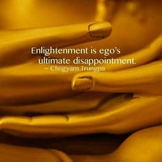 Great quote from Chogyam Trungpa