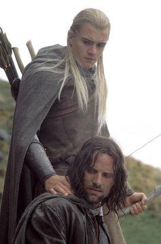 Legolas and Aragorn.
