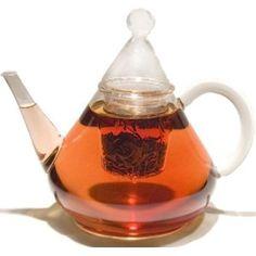 A different glass teapot.