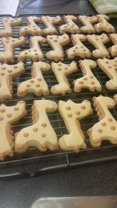 Cute Giraffe cookies