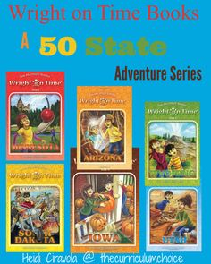 Write On Time - A 50 State Adventure is a book series about homeschoolers who…