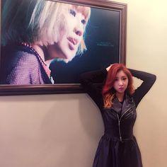 "Minzy: ""I'm at my @millennium_dance_academy :)"""