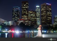 Beautiful Downtown Los Angeles Engagement | Michael and An