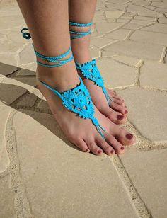 Ehi, ho trovato questa fantastica inserzione di Etsy su https://www.etsy.com/it/listing/585895388/sandali-a-piedi-nudi-uncinetto-colore