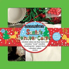 Sassafras  Santas Reindeer Cakes Kit -- Want to know more, click on the image.