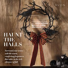 Halloween Spooky Wreath Haunt the halls and give your guests a scare from the moment they arrive with motion-activated lights and cackling witch sounds. Halloween Items, Halloween Home Decor, Happy Halloween, Halloween Decorations, Halloween Wreaths, Happy October, Fall Is Here, Favorite Holiday, Entryway Decor