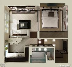 Our Favorite Classy Small Apartment Plans On Young Couple 43 Top Ideas Flat Layout Young Couple Apartment, Small Apartment Plans, Studio Apartment Floor Plans, Couples Apartment, Studio Apartment Layout, Apartment Design, Apartment Living, Living Room, Small Apartment Layout