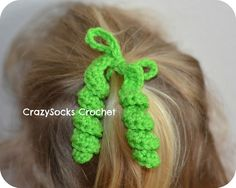 CrazySocks Crochet: CROCHET PATTERN - Hair Spirals.