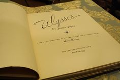 matisse ulysses front page Henri Matisse Illustrates 1935 Edition of James Joyce's Ulysses