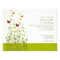 See MoreModern Butterfly Wedding Invitations LimeThis site is will advise you where to buy