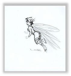 regis loisel art   Fée clochette par Régis Loisel - Illustration