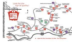 Apple Hill tourist map - camino california • mappery