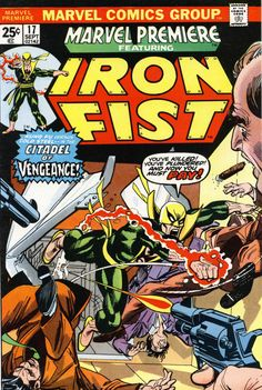 Marvel Premiere 17 - Iron Fist