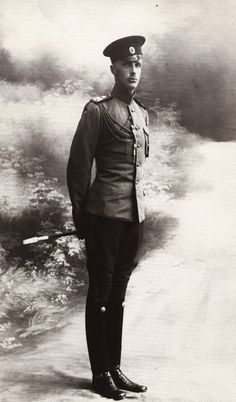 """""""Prince Gavril Konstantinovich """". Prince Gabriel Konstantinovich of Russia. The second son of Grand Duke Konstantin Konstantinovich of Russia and  Grand Duchess Elizabeth Mavrikievna. A great-grandson of Tsar Nicholas I, he was born in Imperial Russia and served in the army during World War I. He lost much of his family during the war and the Russian Revolution. He narrowly escaped execution by the Bolsheviks and spent the rest of his life living in exile in France."""