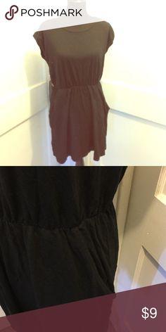 Dress with pockets Black dress with pockets. H&M Dresses
