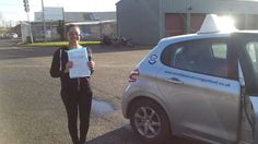 Well done to Charlotte Fox from #Streatham who passed her test in #Mitcham.