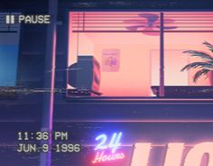 A project using the aesthetic and atmosphere of Vaporwave art and music and…