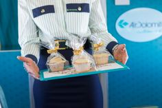 Special cupcakes #airdolomiti25 Photo by Aleksandr Dal Cero