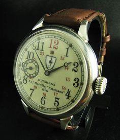 Junghans WWII German U-Boat watch.  Very, very, very cool.