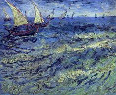 Ван Гог. Морской вид в Сен-Мари
